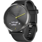 GARMIN VIVOMOVE HR WATCH SPORT BLACK L EU