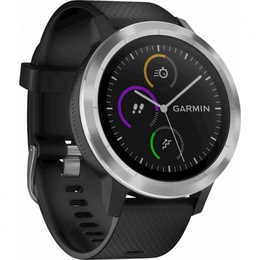 GARMIN VIVOACTIVE 3 STEEL/BLACK EU