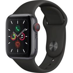 Watch Apple Watch Series 5 GPS 44mm Grey Aluminum Case with Sport Band Black EU