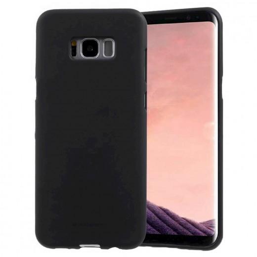Goospery Soft Feeling για Samsung SM-G950F Galaxy S8 Μαύρη by Mercury