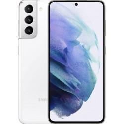 Samsung Galaxy S21 G991 5G 8GB/256GB Dual White EU - ΔΩΡΟ Buds Live & Smart Tag