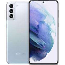 Samsung Galaxy S21+ G996 5G 8GB/256GB Dual Silver EU - ΔΩΡΟ Buds Live & Smart Tag